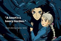 Howl's Moving Castle / This is an amazing movie, please watch it! :) / by Blue Melody