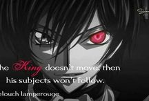 Code Geass / This is one of the best amines I have watched, hands down. / by Blue Melody