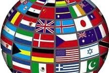 Our Global Community! / Home is Where the Heart Is? Proudly display your flag/emblems/symbols! Enjoy!  / by Quiet ~ The Pinhead ~