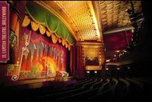 Beautiful Theatre Spaces / Whether it's #Broadway in #NewYork or the #WestEnd in #London, the majority of theatres have great character and luxurious design