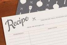 Recipe cards