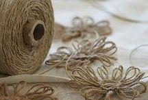 поделки/вязание из шпагата и бечёвки. Джут/ лён/ пенька/ сизаль/ и др / плетение и вязание из веревки, из джута, из бечевки, из шнура, из шпагата