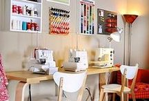 Envie... d'organiser son atelier / Des astuces originales et surtout pratiques pour organiser son atelier ou coin créatif pour tout avoir sous la main !