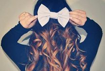 Bows ♡ / Bows // Bows Before Bros ♡  / by Brittany ☼ ☾
