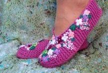Тапочки/ следки/ пинетки/ носки/ балетки / Обувь делаем сами. Вяжем-плетем-шьем-вышиваем-украшаем- обновляем.
