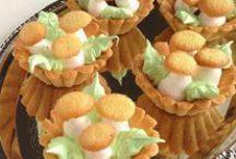 Пирожные разные / Пирожные всякие разные: корзиночки, трубочки, эклеры, пирожные-сэндвич и пр.