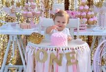 Pink <3 Gold Birthday / Pink Gold and Gold Pink Birthday Ideas!