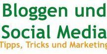 Bloggen und Social Media / Hier findest du Tipps, Tricks und Interessantes rund ums Bloggen und Social Media.