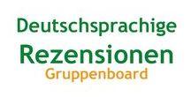 Deutschsprachige Rezensionen | Gruppenboard / Hier finden sich deutschsprachige Rezensionen. Wenn du hier gerne auch pinnen möchtest, dann nehme Kontakt mir mir auf (hier bei Pinterest oder an hallo@lexasleben.de) und ich füge dich hinzu.