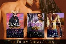 Paranormal Romance Series: The Dirty Djinn / An interracial romance series featuring three brothers who just happen to be genies and the women who love them.
