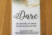 DARE - share 1000 gifts / Sharing the everyday blessings every day. Living in the present. Praising God in all circumstances: for the good and the challenging.