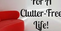 Declutter / Declutter your space and open up room for to grow in spirit and experiences.