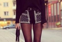 COMFY SEXY SHORTS OUTFITS / by Ines Belen Vazquez