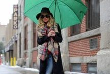 RAINY DAYS OUTFIT BOARD IN CONSTRUCTION / by Ines Belen Vazquez