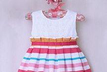 Cute dress- Vestidos para niñas / Vestidos variados para niñas pequeñas / by Pallets - Reciclaje
