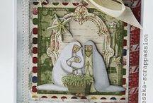 Kartki na Boże Narodzenie / by Wanda Zamojska
