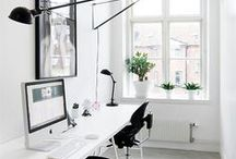 Work Spaces + Offices + Craft Rooms + Studios / Work spaces are great to inspire us to be creative or give us spaces to be productive.  This board will have ideas for desks, room styles, craft and art organization, furniture and office ideas.