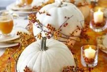Fall Hospitality  Entertaining and Party Ideas / Fall recipes, ideas for entertaining guest, decorating and party ideas