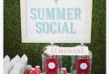 Summer | Party Themes and Ideas / Summer is a fun time to entertain. This board will get you inspired with recipes, crafts, party ideas and more to help you have a lifestyle of a welcoming home.
