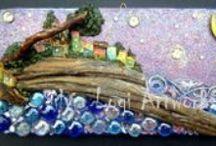 Maderitas - wood / Arte con ramas, maderas, troncos y mas / by Pallets - Reciclaje