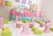 Babies & kids party ideas / Ideas para fiesta de bebes o niños / by Pallets - Reciclaje