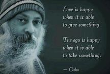 Osho words / What I am teaching is religiousness, a quality. Religion is a dead dogma, fixed principles, frozen fossils. What I am teaching to you is a living, flowing religiousness - an experience like love. Rajneesh