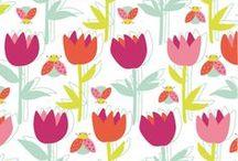 Papier - kwiaty, liście, trawy / by Wanda Zamojska