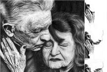 My pencil drawing - my hobby / Open for COMMISSIONS. More at information or: portraits668@gmail.com