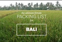 """Good-to-know-list"" / Because I want to be prepared as good as possible, I decided to make a board with traveltips. For all my readers who are planning to go to Bali, here is some handy information on what to bring, where to go, where not to go and many other tips!"