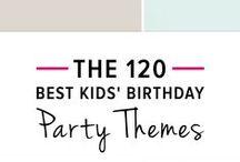 Birthday Party Ideas / Birthday Party Ideas for Kids