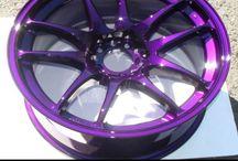 Civic Goals / Longterm civic goals. Dark purple paint w/ black accents or vice versa..