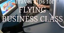 Flying Business Class / What it's really like to fly Business Class!