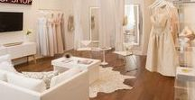 Wonderful Wedding Shops / Wedding shop and bridal boutique exteriors and interiors to inspire