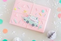 gift wrapped / Festive and creative gift wrapping