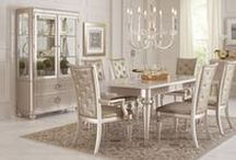 Inspired Dining Rooms / Whether you are having a casual family dinner, celebrating a special occasion with friends or an intimate dinner for two, everyone likes their dining room to look good. That's why at Furniture Cart we have an extensive range of dining tables, dining chairs, dining room sets and many other pieces of dining furniture such as sideboards, benches, servers and china's.