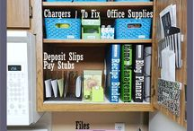 Organization . . If I ever get organized I will try these / by Mary Woods
