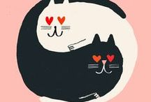 pretty prints & illustrations / Quirky art prints and illustrations
