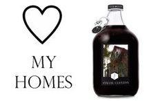 ♡ my homes