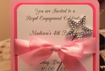 INVITATIONS for a Princess Party / The Invitation for your Princess Party is the first thing your guests will see. It will set the stage for your special day.