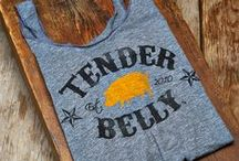 Tender Belly Retail Goods / Tender Belly products that are available online and in retail locations. Buy online or find out where at www.tenderbelly.com.