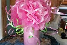 DECORATING ON A BUDGET for a princess party / Great decorating ideas on a budget.