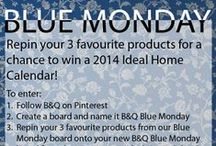 Blue Monday / A collection of all things blue to inspire you this New Year!  Our competition to win an Ideal Home Calendar 2014 is now closed. Thanks to all that entered! / by B&Q