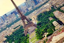 France. / The Eiffel Tower. Paris. Frenchies. Film. Shopping. / by Diana Johnson