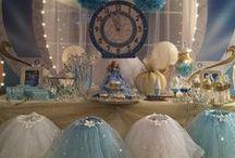 CINDERELLA Party Ideas / Cinderella Birthday Party Ideas and Princess Party Planning Tips, crafts, favors, and decorating ideas. #cinderellapartyideas