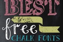 Who Fonted: Free Font Downloads! / Free font and printable downloads