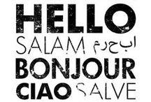Multilingual / by Romantic Geek