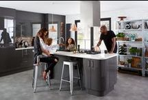 Grey kitchens: 2015 trends / A rich grey colour palette is a real trend in kitchens this year. We've put together some of our latest kitchen styles in this delectable shade to give you some ideas of how to achieve your dream look. Happy browsing! / by B&Q