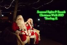 Seasonal Sights & Sounds / Sights & Sounds is Downtown Sterling's Annual kick-off to Christmas brought to you through a partnership between Sterling Main Street and the Sauk Valley Area Chamber of Commerce. We'll be lighting up the downtown and celebrating all things holiday from November 20th through December 10th!