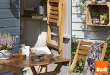 Outdoor room / Your garden should be an extension of your home. Follow our clever tricks and tips to make the most of your outside space, from pretty patios to window boxes / by B&Q