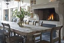 Rustic living spaces & decor / by Cristina of TC